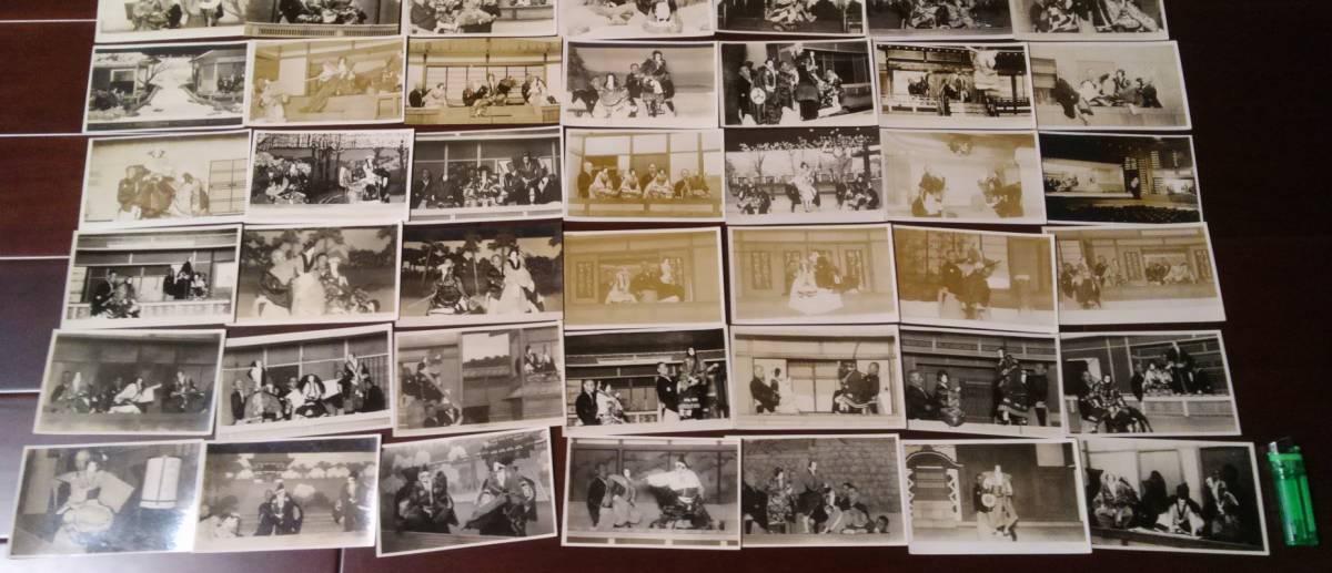 戦前の文楽写真・絵葉書大量112枚 1枚に吉田文五郎直筆サイン_画像6