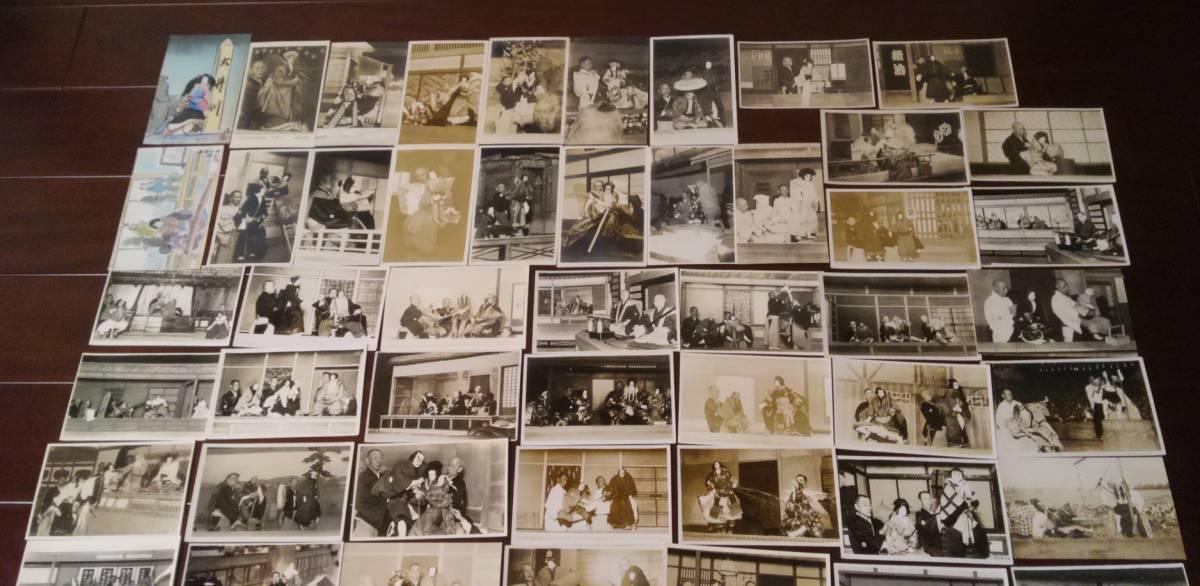 戦前の文楽写真・絵葉書大量112枚 1枚に吉田文五郎直筆サイン_画像4