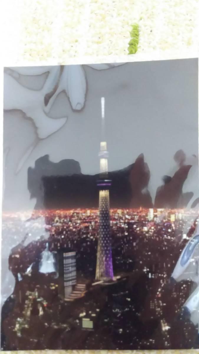 送料無料 新品同様 東京スカイツリー ポストカード 3枚_画像4