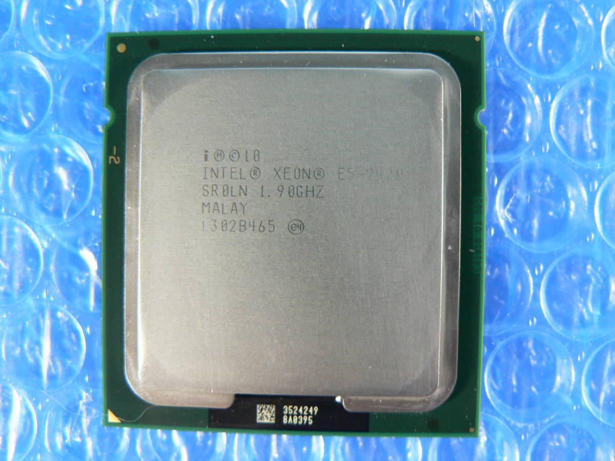 1EDI //Intel Xeon E5-2420 1.90GHz SR0LN Sandy Bridge-EN C2 Socket1356(LGA)MALAY//NEC Express5800/R120d-1E取外//(同ロット)在庫9_画像1