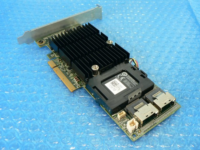 1EIH // DELL PERC H710 (0NHD8V) SAS RAID Adapter PCI-Express 120mmブラケット (070K80) // Dell PowerEdge T620 取外_画像6