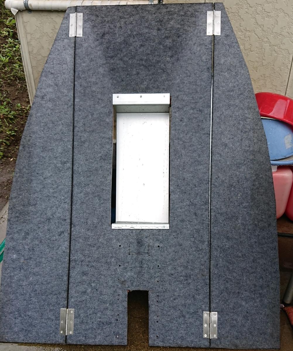 即決!レンタルボート デッキ オフセット加工済み 折り畳み式_画像1