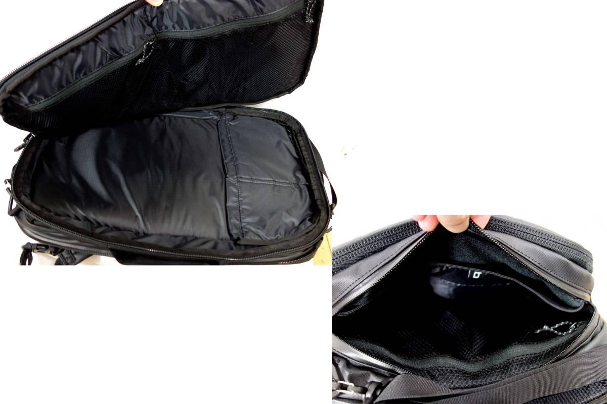 買取キング■新品マムートSEON 3-WAYセオン黒18L ブリーフリュックショルダー2510-04060税込_画像4