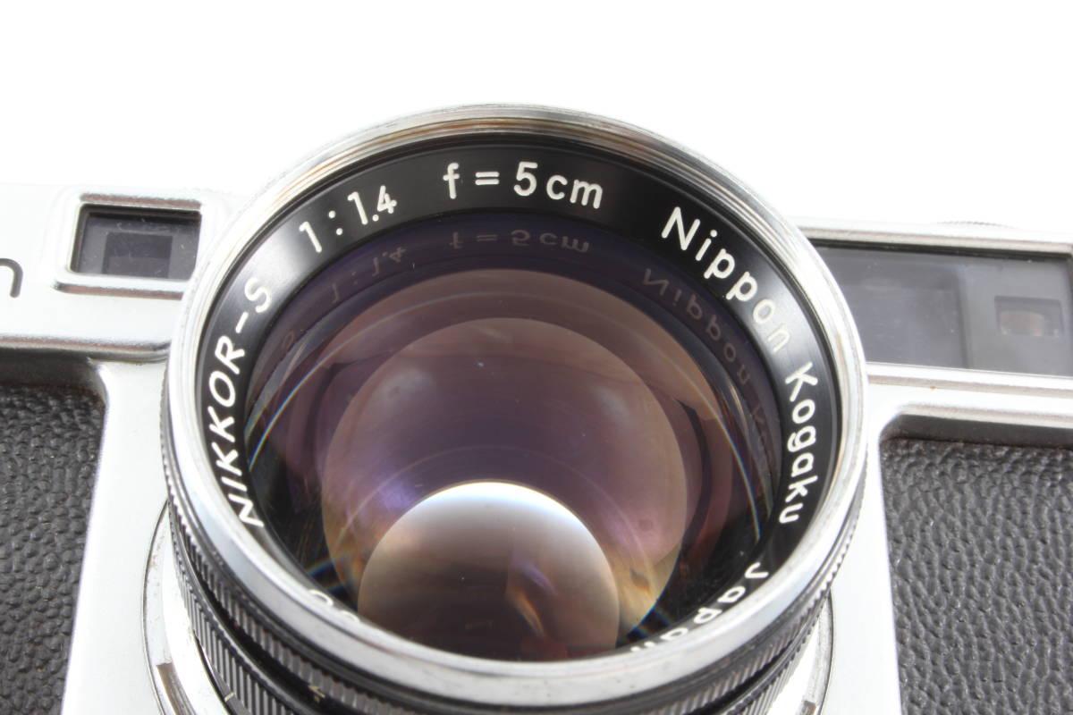 ニコン nikon SP フィルムカメラ NIKKOR-S 5cm f1.4_画像10