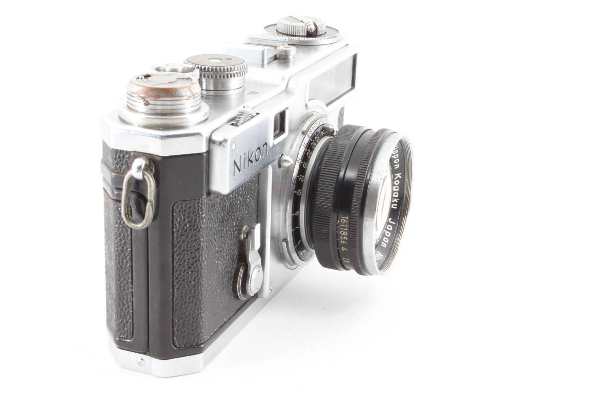 ニコン nikon SP フィルムカメラ NIKKOR-S 5cm f1.4_画像3