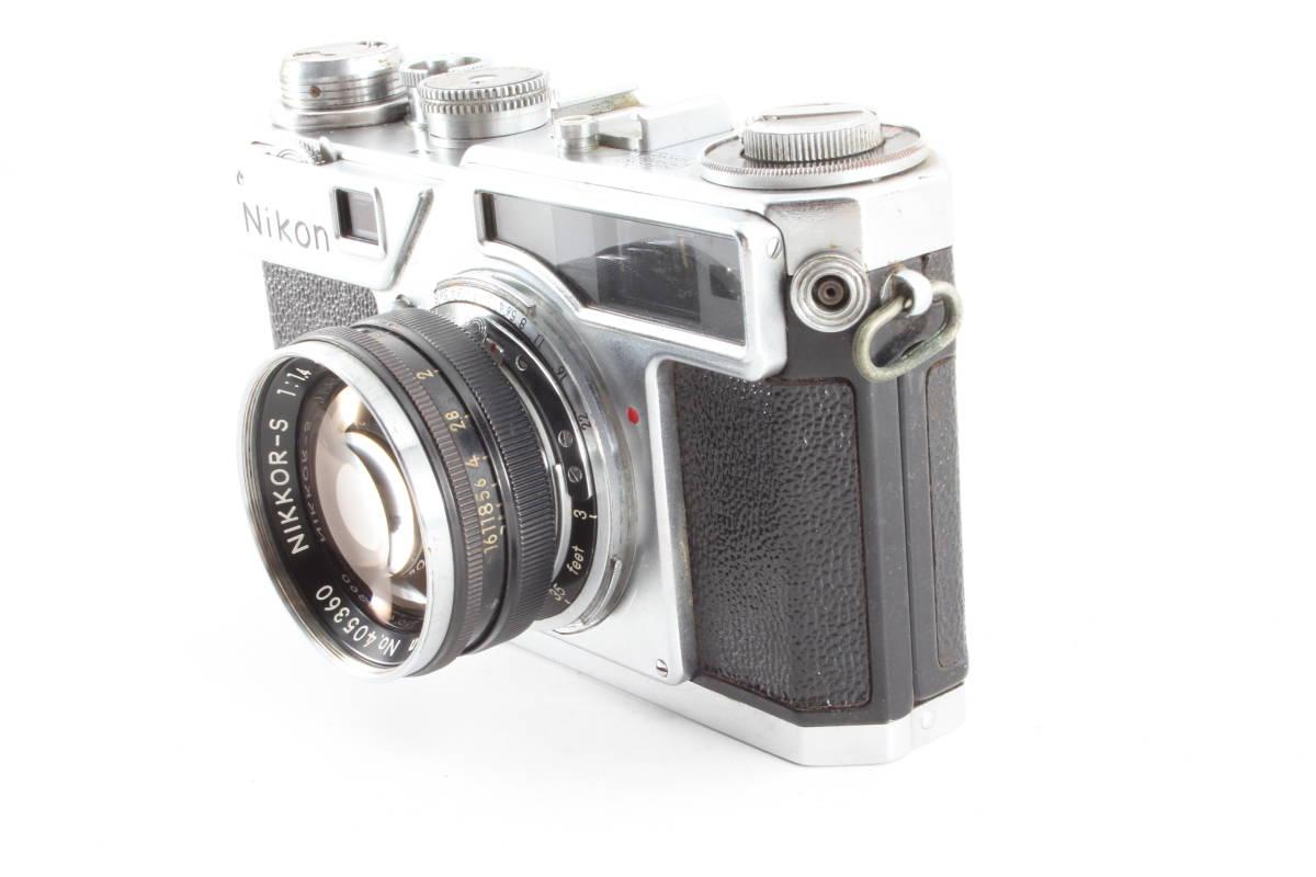 ニコン nikon SP フィルムカメラ NIKKOR-S 5cm f1.4_画像2