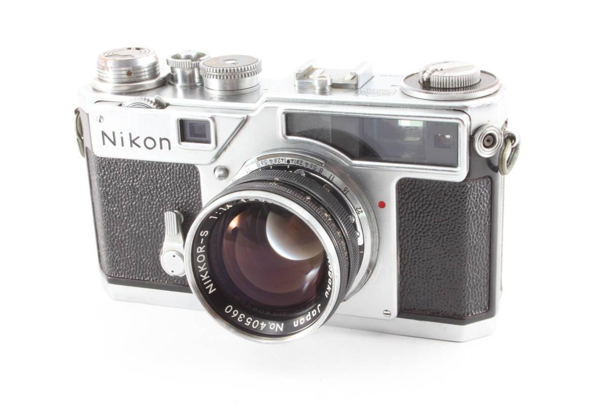 ニコン nikon SP フィルムカメラ NIKKOR-S 5cm f1.4_画像1