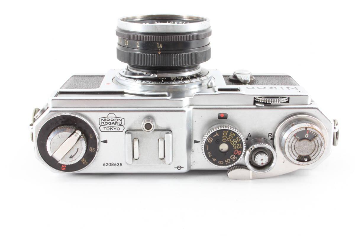 ニコン nikon SP フィルムカメラ NIKKOR-S 5cm f1.4_画像4