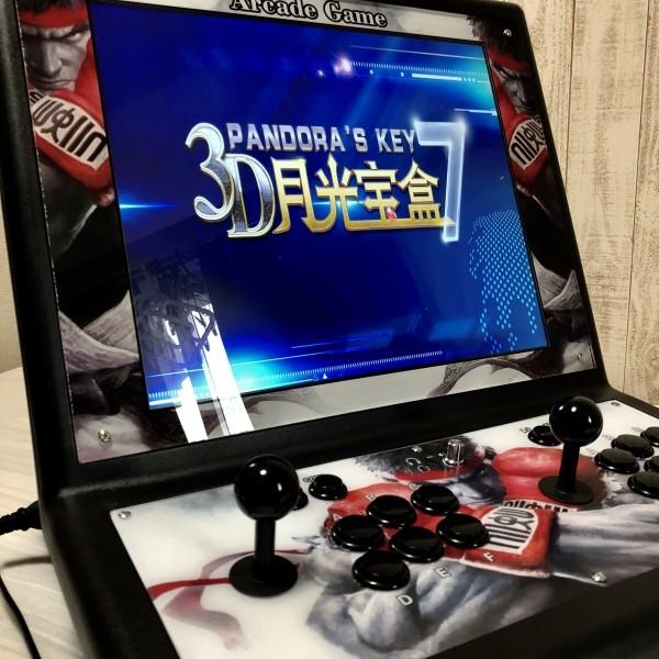 【KOF☆19インチ液晶筐体☆ラスト3】パンドラボックス 3D Treasure コントロールボックス アーケードゲーム pandora パンドラキー 2177in1
