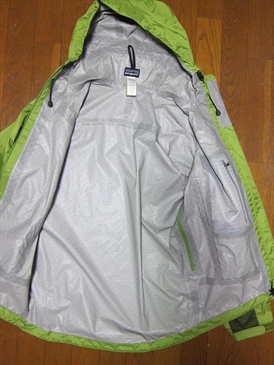 パタゴニアpatagonia防水マウンテンパーカージャケットXS黄緑_画像2