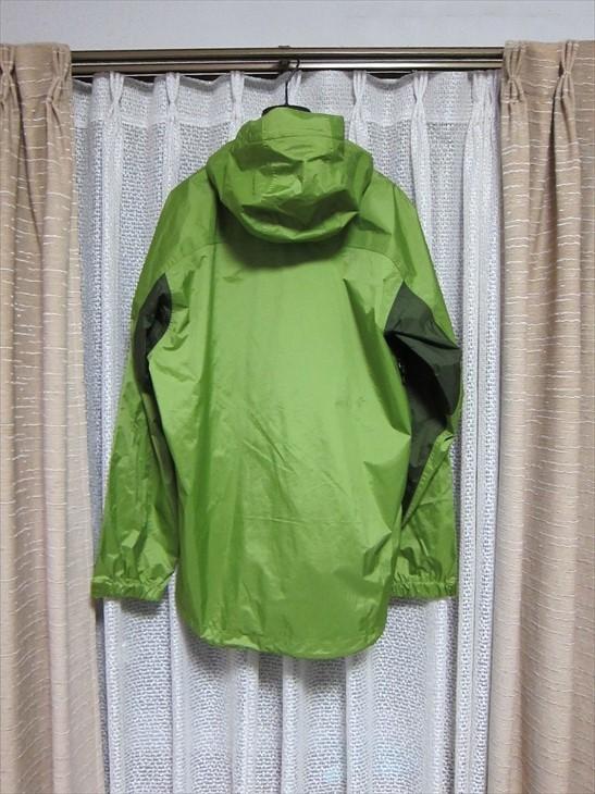 パタゴニアpatagonia防水マウンテンパーカージャケットXS黄緑_画像4