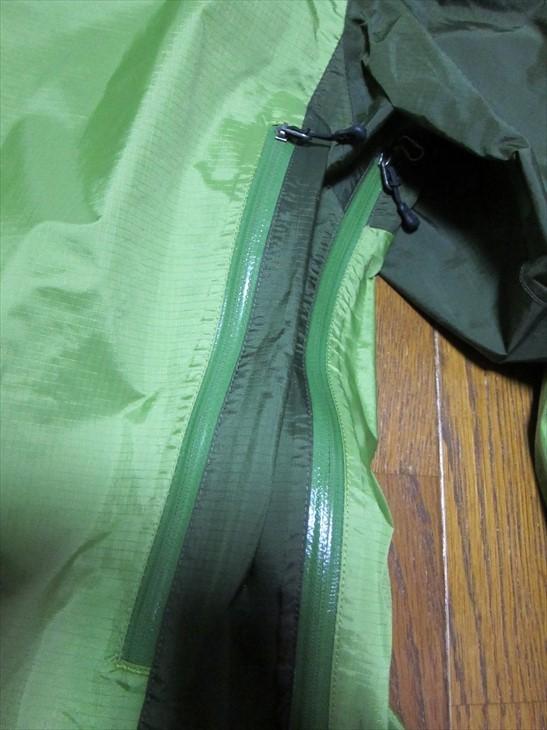 パタゴニアpatagonia防水マウンテンパーカージャケットXS黄緑_画像6