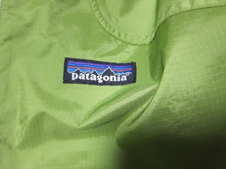 パタゴニアpatagonia防水マウンテンパーカージャケットXS黄緑_画像7
