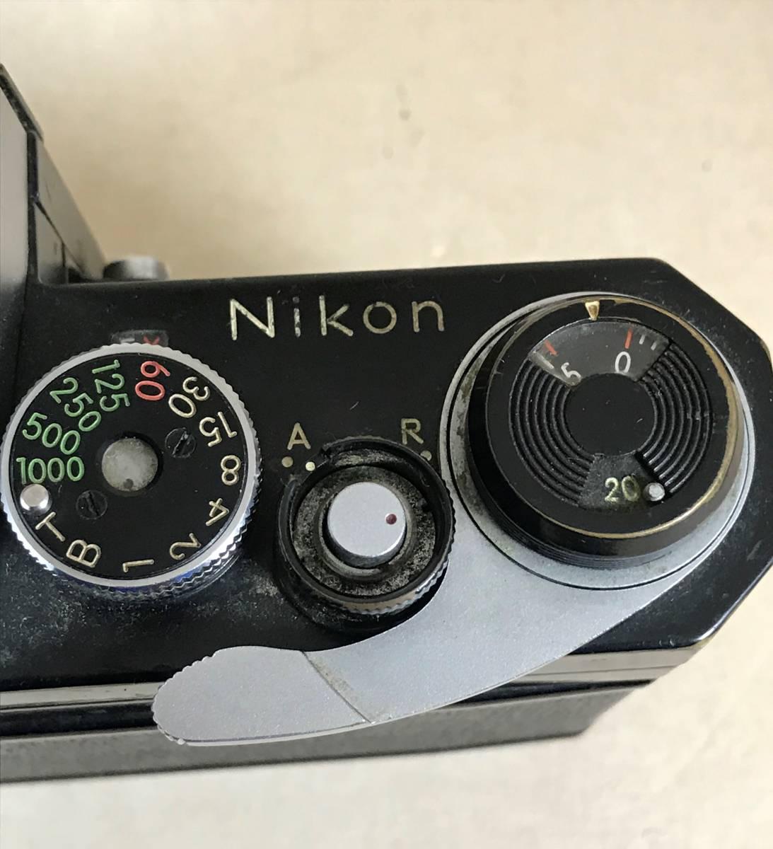 ニコン Nikon F フィルムカメラ/シリアルNO 6857846 Nikon JAPAN_画像4