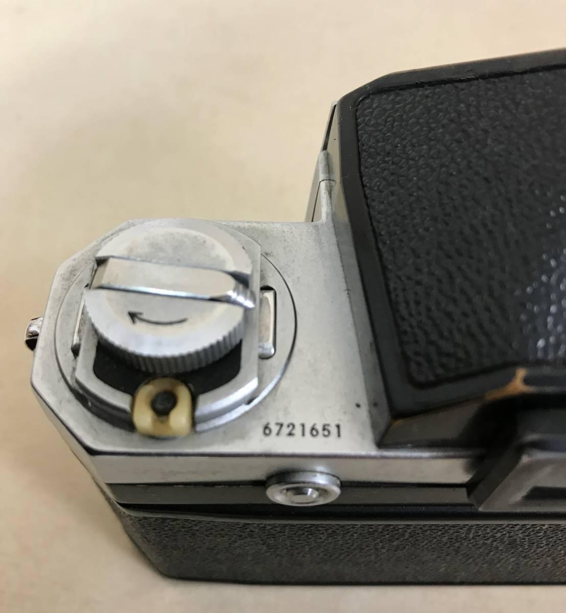 ニコン Nikon F フィルムカメラ/シリアルNO 6721651 NIPPON KOGAKU TOKYO_画像6