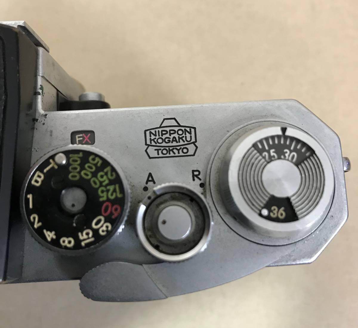 ニコン Nikon F フィルムカメラ/シリアルNO 6721651 NIPPON KOGAKU TOKYO_画像7
