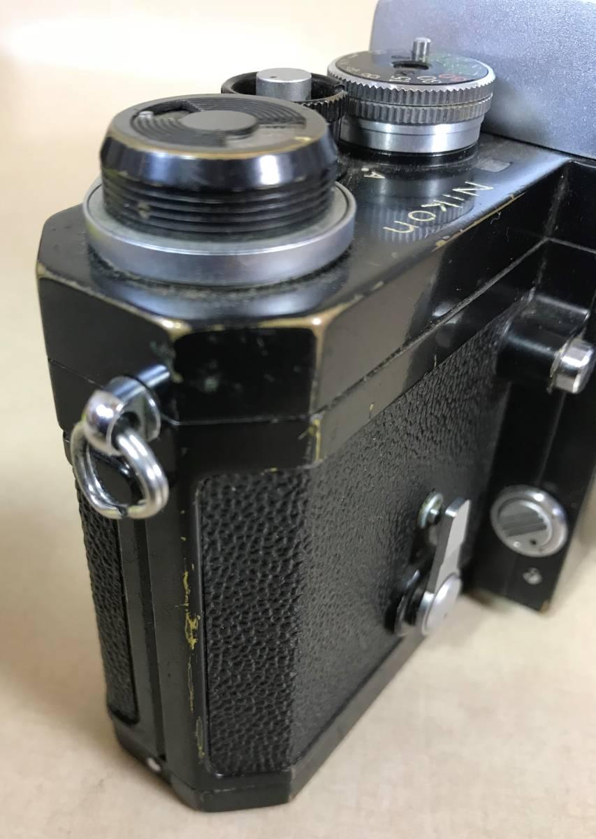 ニコン Nikon F フィルムカメラ/シリアルNO 6857846 Nikon JAPAN_画像6