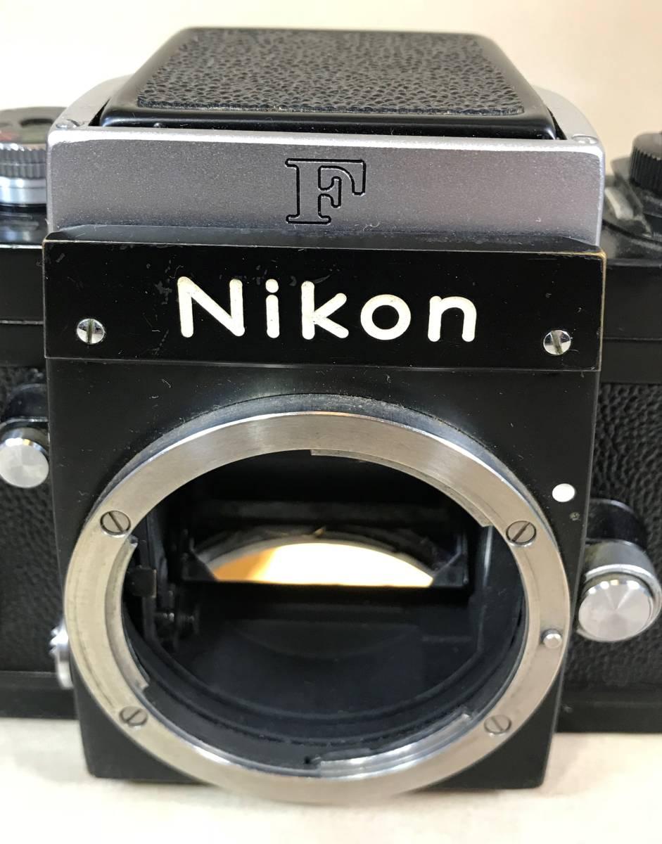 ニコン Nikon F フィルムカメラ/シリアルNO 6857846 Nikon JAPAN_画像2