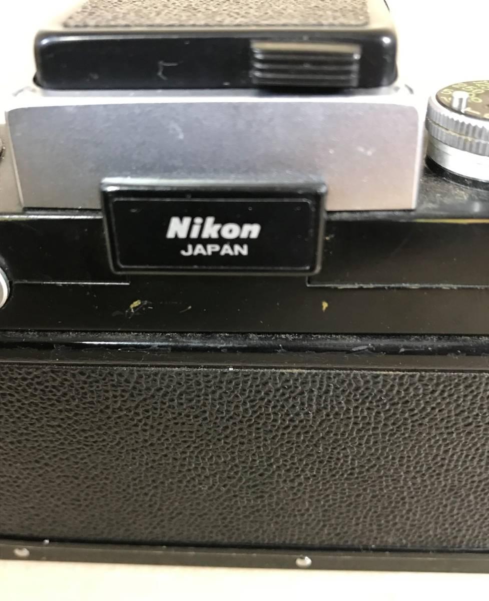 ニコン Nikon F フィルムカメラ/シリアルNO 6857846 Nikon JAPAN_画像9