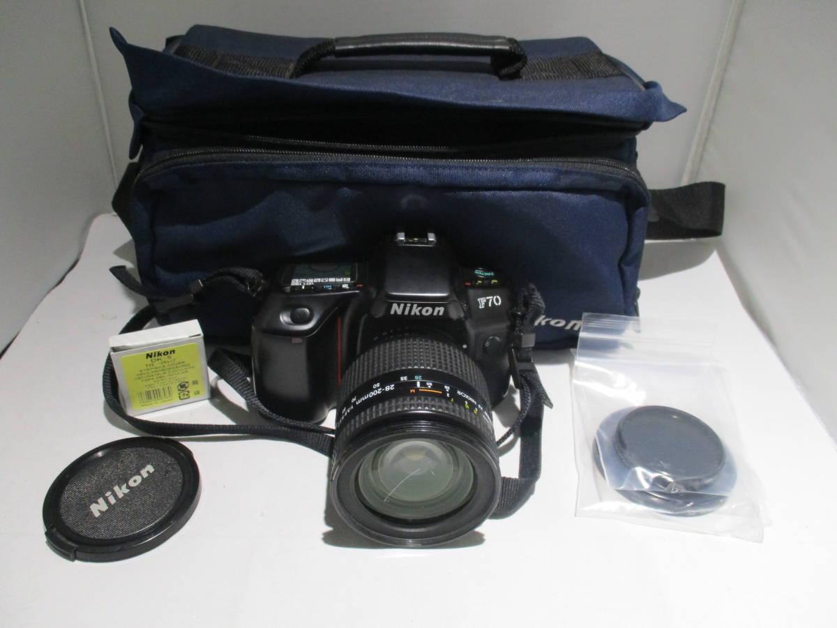 ★☆【6450】ジャンクの為、格安スタート♪ Nikon F70 レンズ 28-200mm ☆★