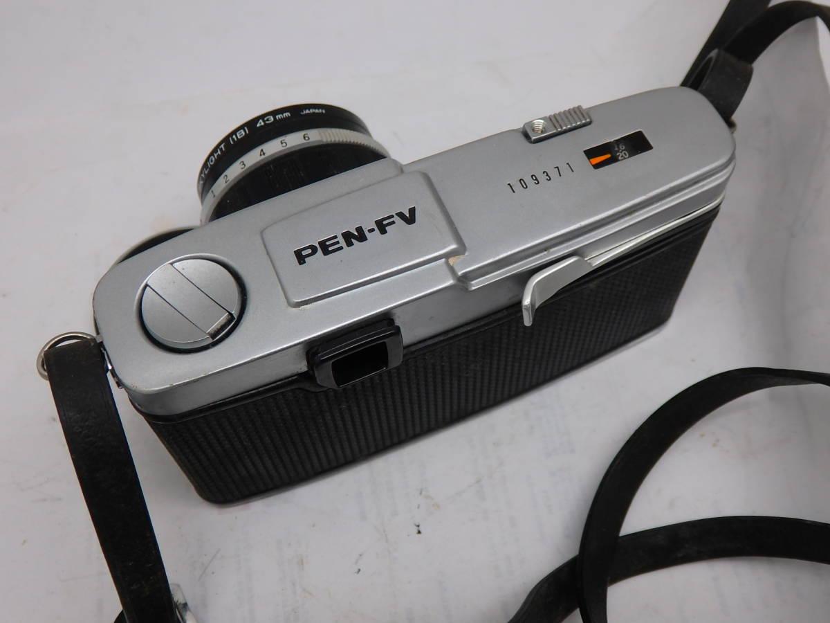美品 完動 OLYMPUS PEN-FV 標準レンズ付き_画像2