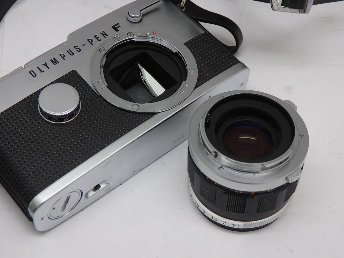 大口径 美品 OLYMPUS PEN-FT G.ZUIKO 40mm f1.4付き カメラ 完動_画像4