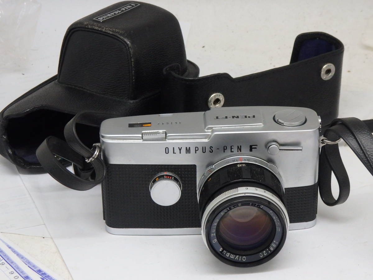 大口径 美品 OLYMPUS PEN-FT G.ZUIKO 40mm f1.4付き カメラ 完動