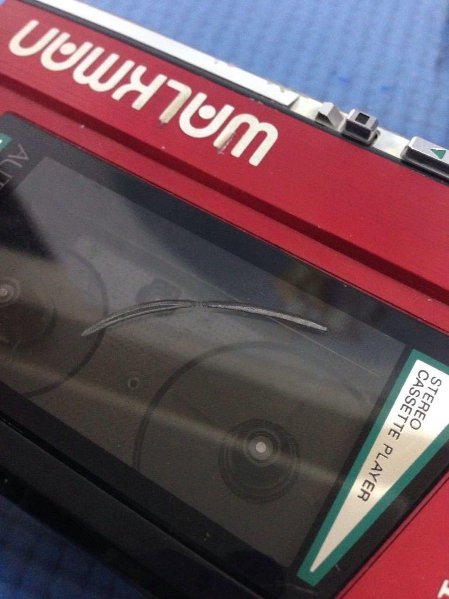 SONY WANKMAN WM-40 カセットプレーヤー ジャンク(60s)_画像6