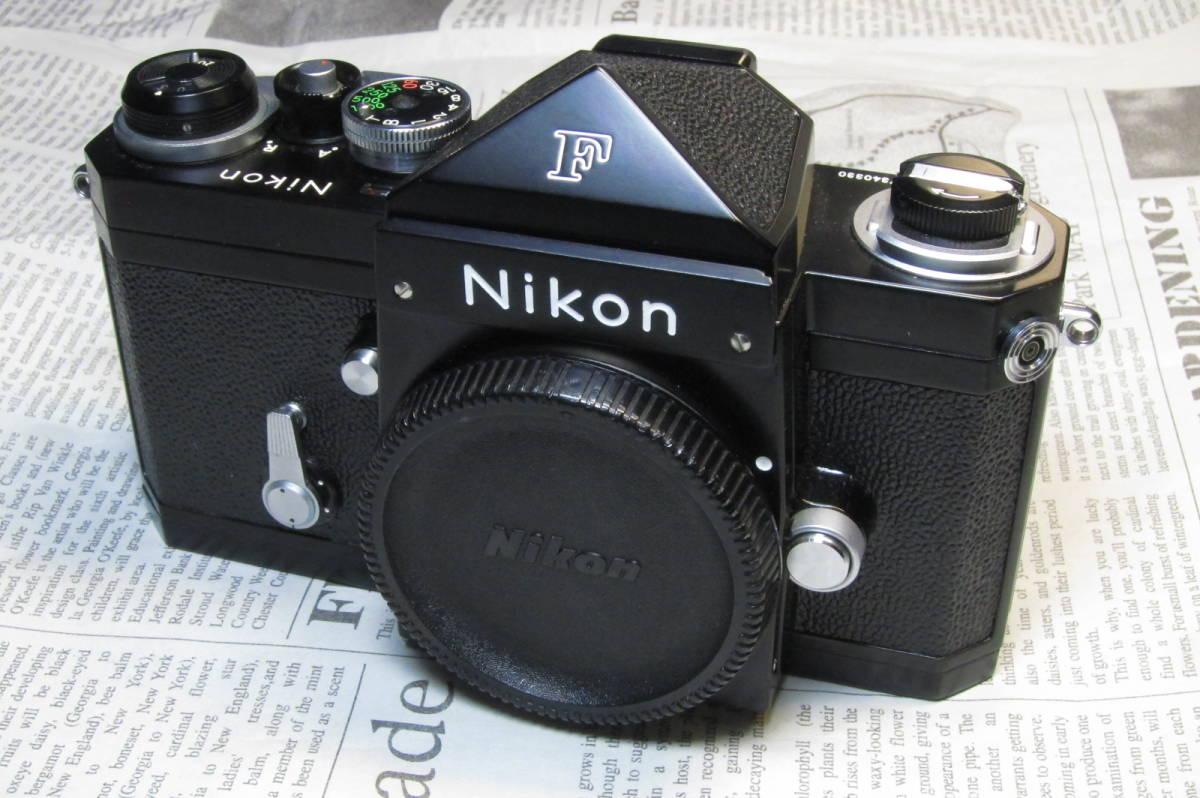 美品 Nikon F ニコンF ブラック 黒 アイレベル 元箱、取扱説明書、ケース付 _画像2