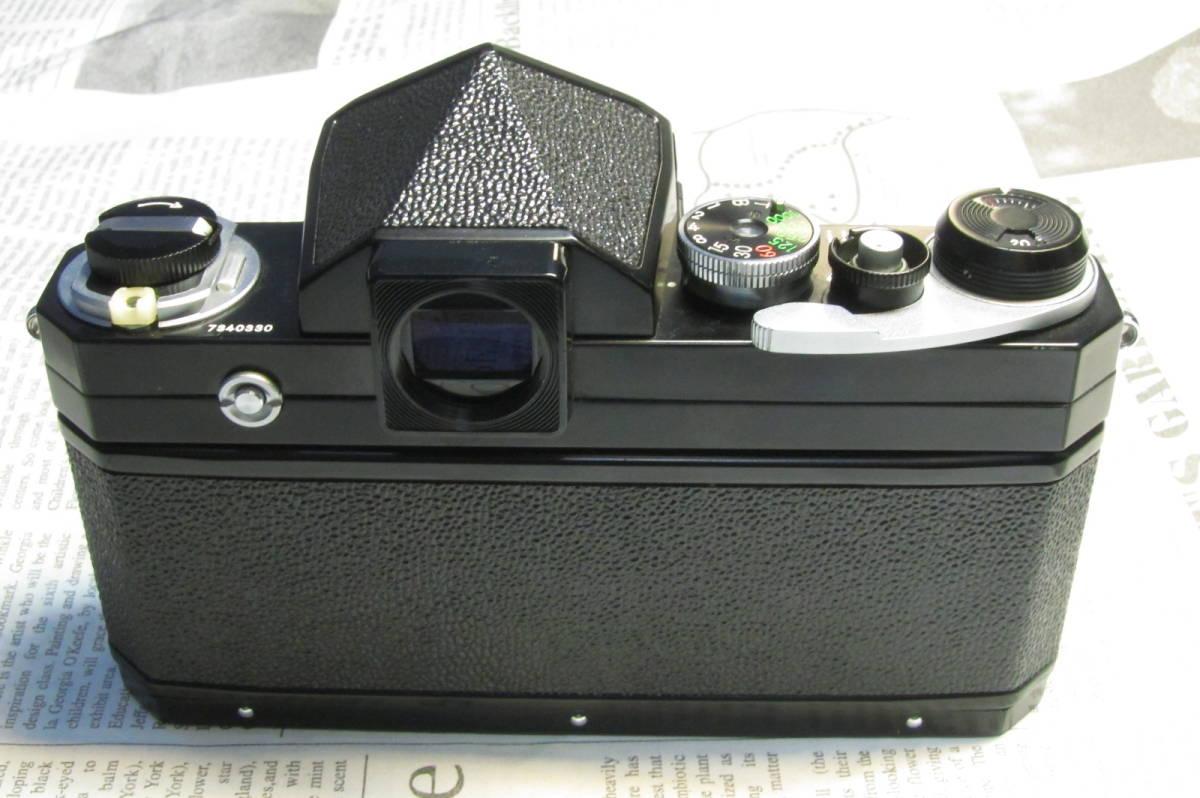 美品 Nikon F ニコンF ブラック 黒 アイレベル 元箱、取扱説明書、ケース付 _画像4
