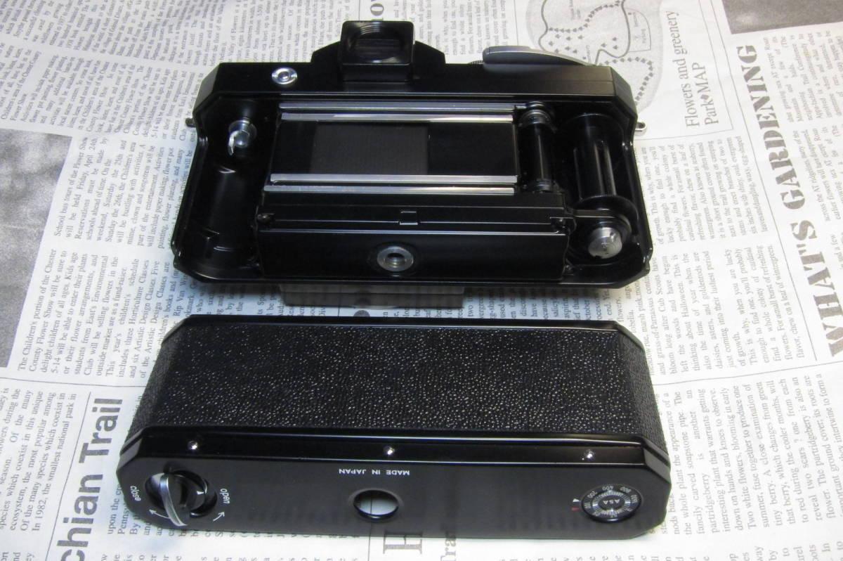 美品 Nikon F ニコンF ブラック 黒 アイレベル 元箱、取扱説明書、ケース付 _画像6