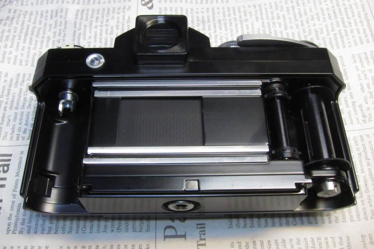 美品 Nikon F ニコンF ブラック 黒 アイレベル 元箱、取扱説明書、ケース付 _画像7