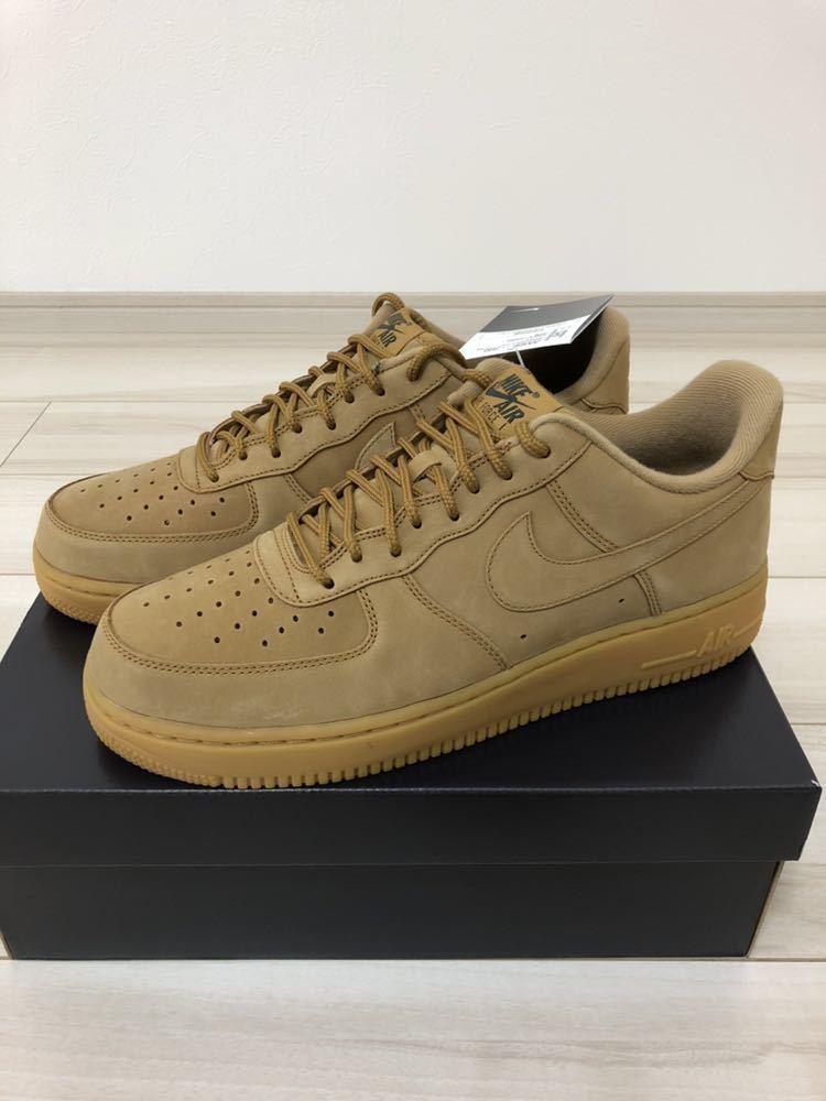 NIKE AIR FORCE 1 07 WB Nike air force 1 sneakers AA4061 200 men shoes ウィート