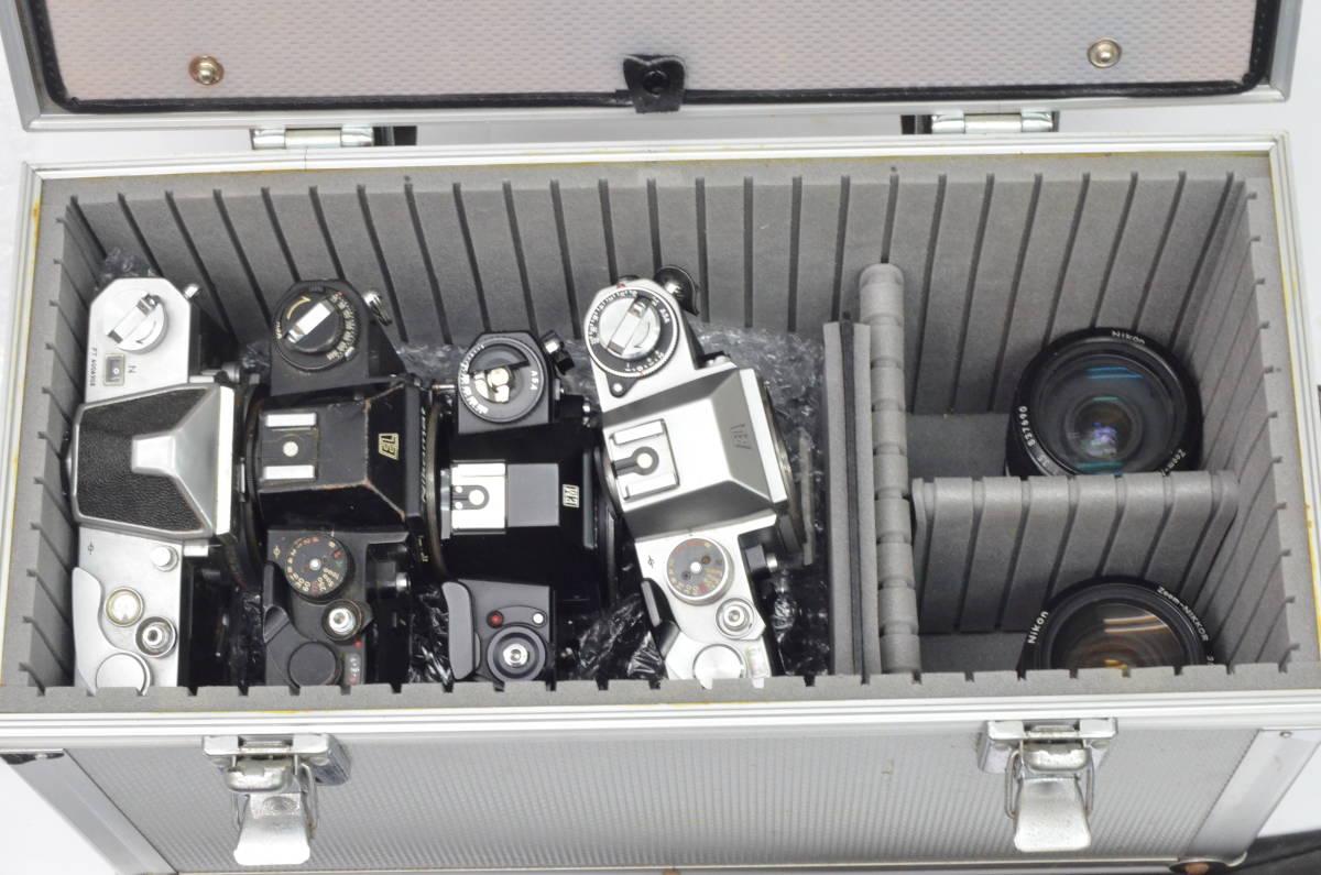 S43 NIKON ニコン EL EM FTN FG-20 FM 8台 50mm 他 一眼レフ MF マニュアル レンズ まとめてセット_画像6