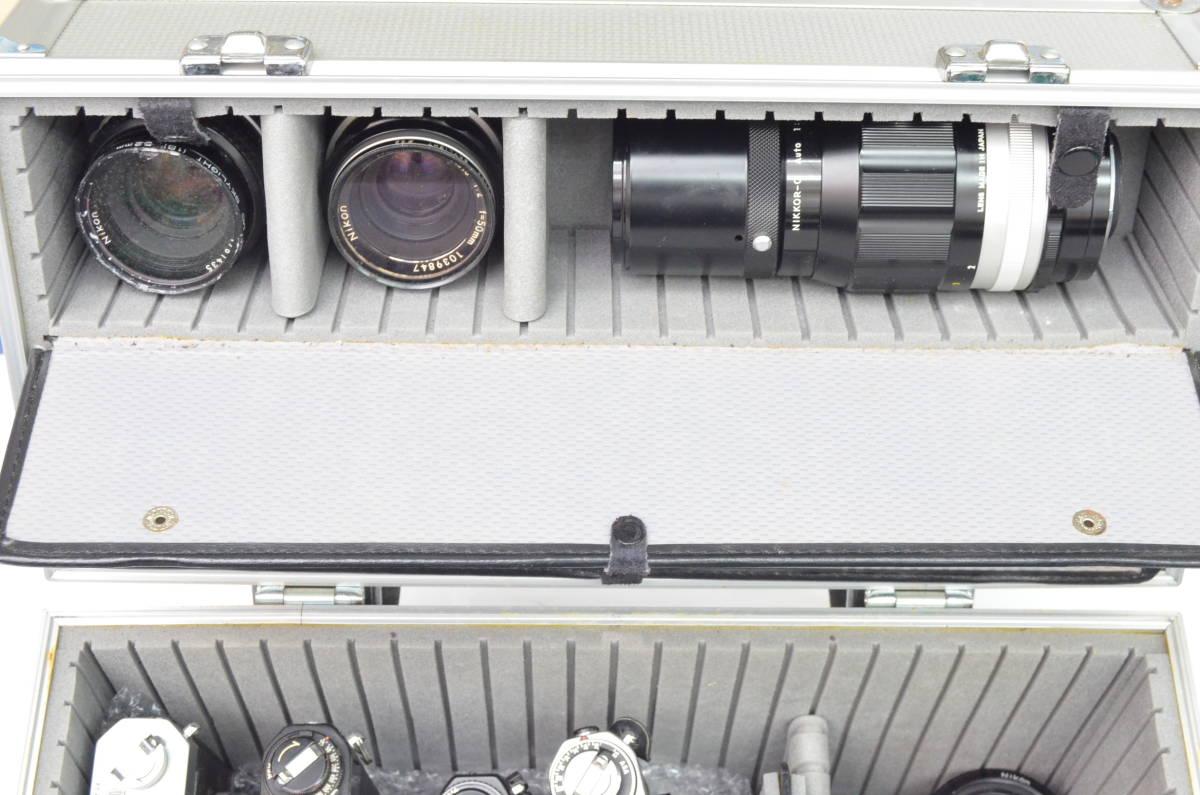 S43 NIKON ニコン EL EM FTN FG-20 FM 8台 50mm 他 一眼レフ MF マニュアル レンズ まとめてセット_画像7