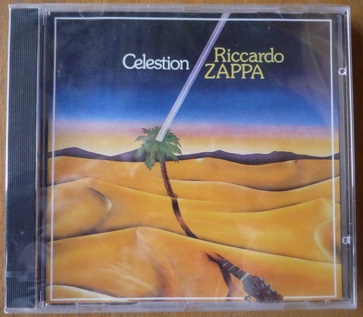■【CD/新品未開封】 RICCARDO ZAPPA - CELESTION