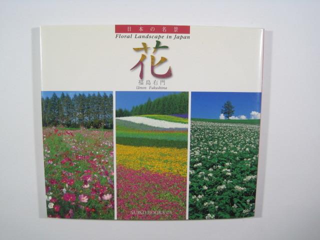 日本の名景 花 光村推古書院  花 風景 写真集 福島右門_画像4