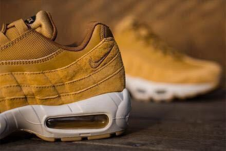 uk availability ed2ab 6731d 代購代標第一品牌- 樂淘letao - ☆27.5cm☆新品未試着☆NIKE AIR MAX 95 SE WHEAT☆ WHITE-LIGHT-BONE -BLACK☆