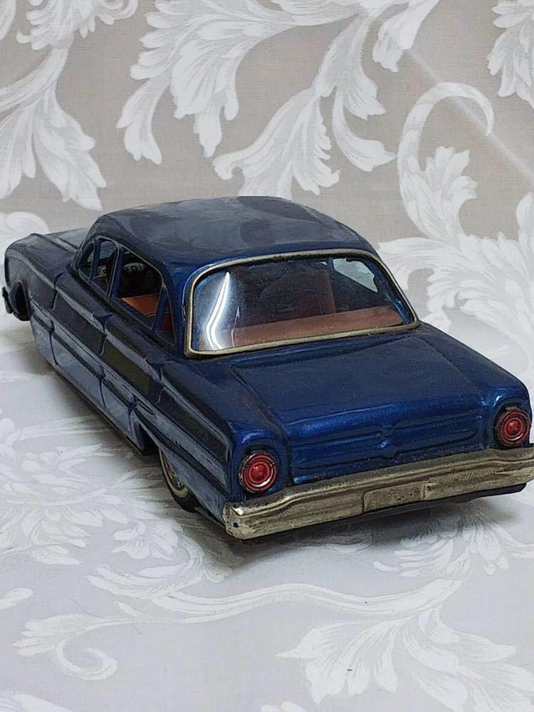 ::: 昭和レトロ BANDAI ブリキ Ford Falcon 1963年式 レア :::_画像3