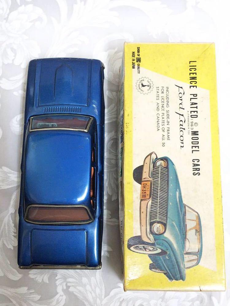 ::: 昭和レトロ BANDAI ブリキ Ford Falcon 1963年式 レア :::_画像10