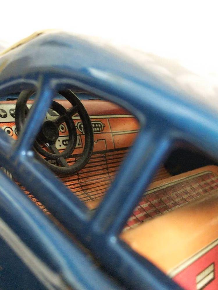 ::: 昭和レトロ BANDAI ブリキ Ford Falcon 1963年式 レア :::_画像4