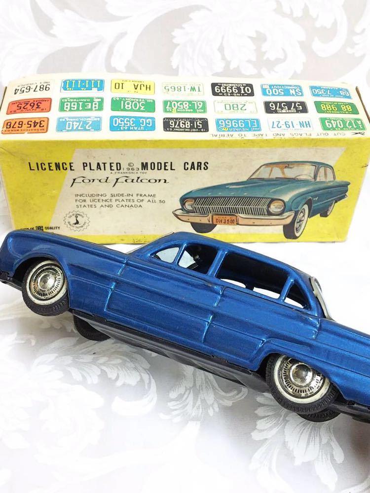 ::: 昭和レトロ BANDAI ブリキ Ford Falcon 1963年式 レア :::_画像8