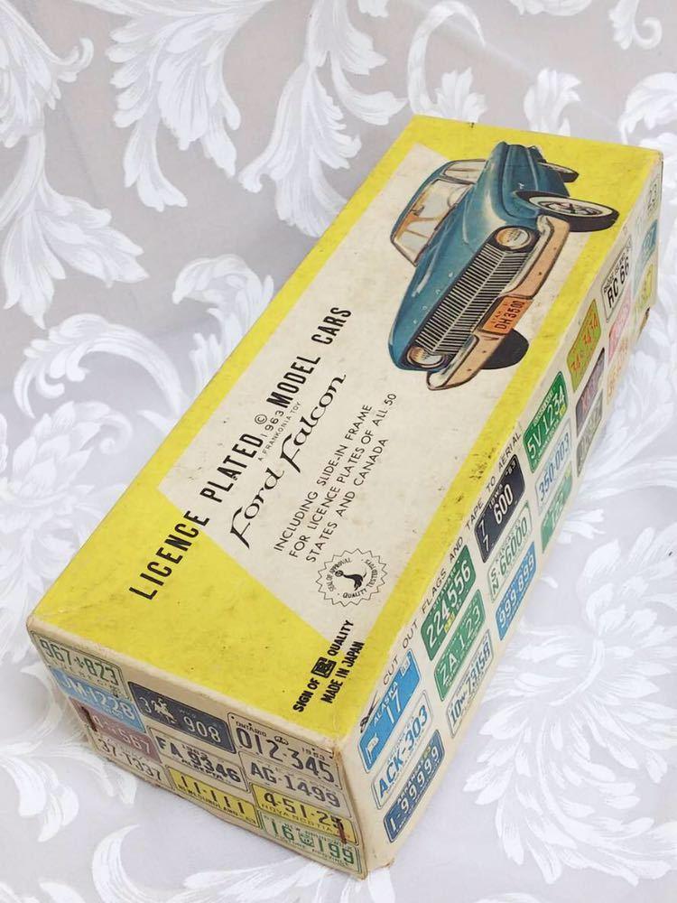 ::: 昭和レトロ BANDAI ブリキ Ford Falcon 1963年式 レア :::_画像9