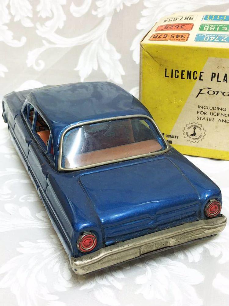 ::: 昭和レトロ BANDAI ブリキ Ford Falcon 1963年式 レア :::_画像7