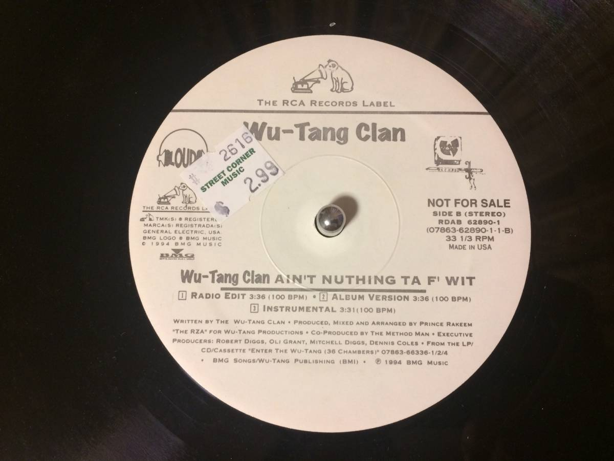 WU-TANG CLAN ♪CAN IT BE ALL SO SIMPLE US オリジナル_画像2
