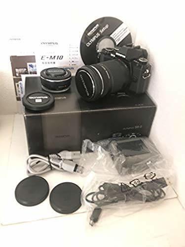 【美品!付属品充実】 OLYMPUS OM-D E-M10 ダブルズームキット拍卖