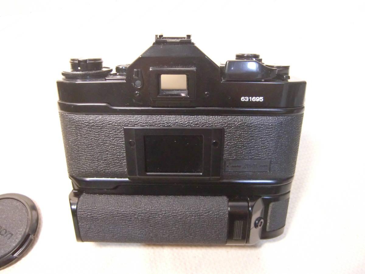 Canon キャノン MFカメラ A-1 & 単焦点レンズ FD 50mm f1.8 & パワーワインダーA セット 現状お渡し品_画像2