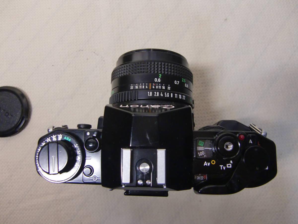 Canon キャノン MFカメラ A-1 & 単焦点レンズ FD 50mm f1.8 & パワーワインダーA セット 現状お渡し品_画像3