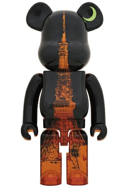 東京タワー ベアブリック 1000% 開業60周年記念  TOKYO TOWER BE@RBRICK MEDICOM TOY メディコムトイ_画像1