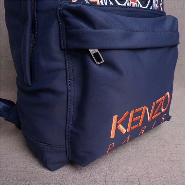 KENZO/ケンゾー トラの顔 男女兼用バッグ リュックサック バックパック 大人気新品 ネイビー+ピンク_画像5